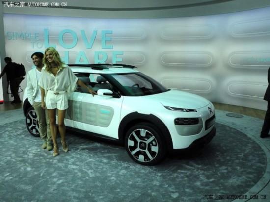 法兰克福车展:雪铁龙Cactus概念车发布