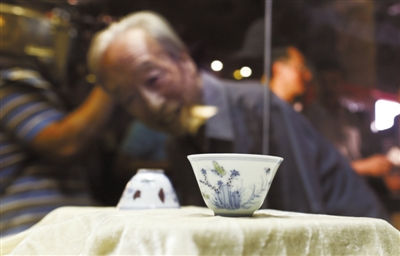 """估价10亿美元文物""""三秋杯""""可进故宫免费看(图)"""