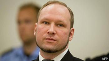 挪威枪击案凶手布雷维克被大学录取攻读政治学