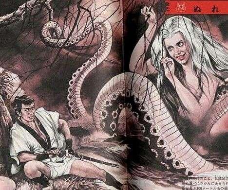日本 妖怪/原标题:鬼魅而神秘探秘日本奇特的妖怪文化