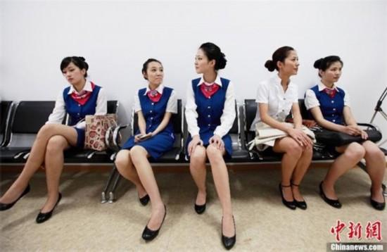 航空公司头等舱空姐的收入秘密图片