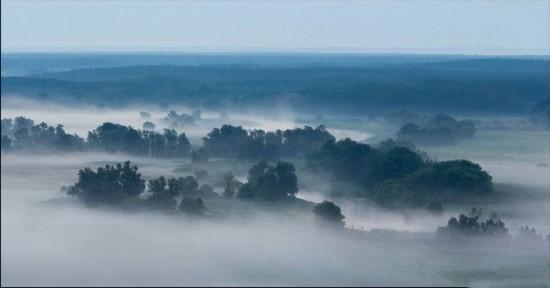 《山中浓雾的奇特景观》 -        jswzjl - 不拘一格