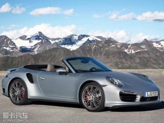 保时捷新款911 Turbo 敞篷版