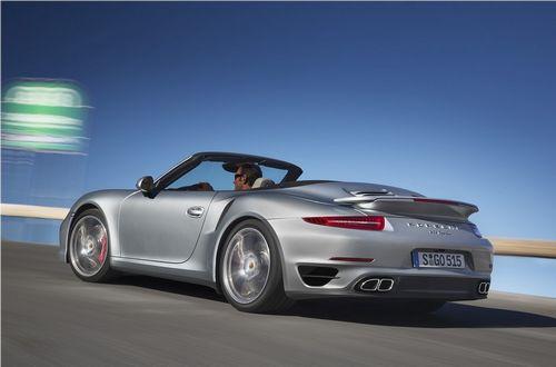 保时捷911 Turbo敞篷版官图 洛杉矶发布