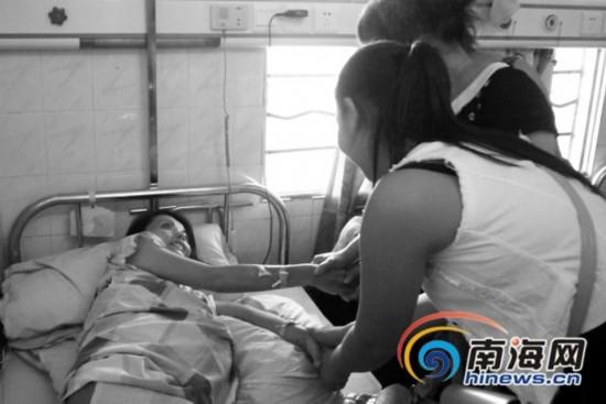屯昌女子患癌症 最大心愿是望前夫能看看她
