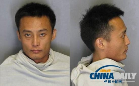 中国留美博士涉嫌杀害前女友被捕 警方公布其照片