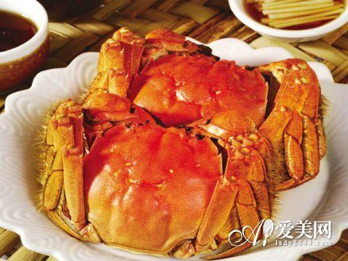 秋天吃螃蟹有3大好处 这样吃蟹最养生图片