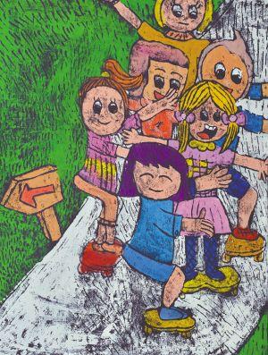 儿童喜迎十九大画画-中国梦 我的梦 江苏省儿童画大赛优秀作品选登
