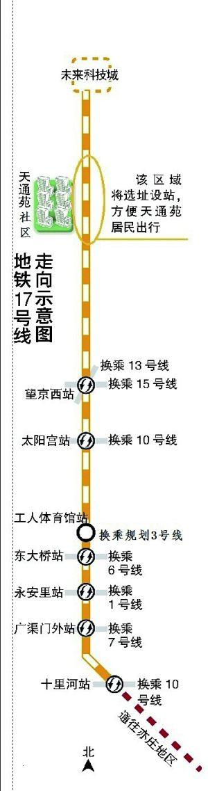 地铁17号线明年开建