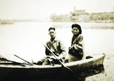 丁明俊和丈夫沈世猷为渡江战役立下赫赫战功