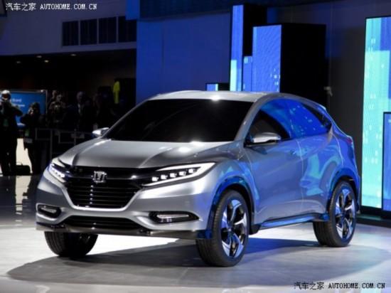 『之前发布的本田Urban概念版车型』-定位小型SUV 本田Urban量产版高清图片