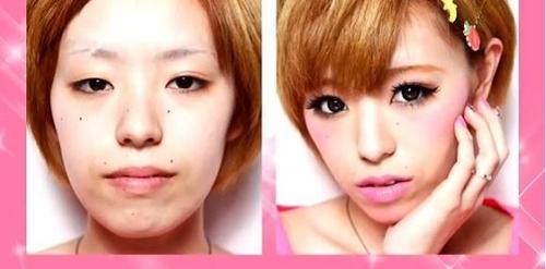 日本女生的易容化妆术【27】