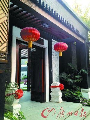 中国大院式别墅才有大宅门的感觉。