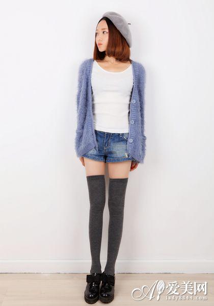 矮个子女生穿衣搭配 类型五-显瘦又显高 矮个女生穿衣搭配短打下装秘