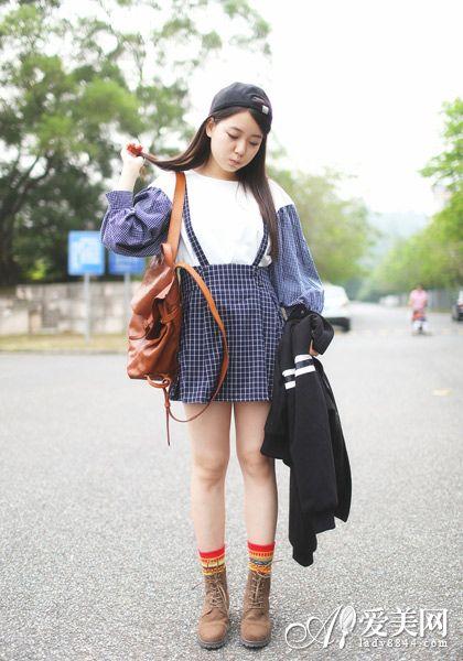 矮个子女生穿衣搭配 短打下装秘技【3】