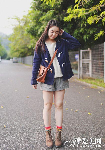 矮个子女生穿衣搭配 类型三-显瘦又显高 矮个女生穿衣搭配短打下装秘