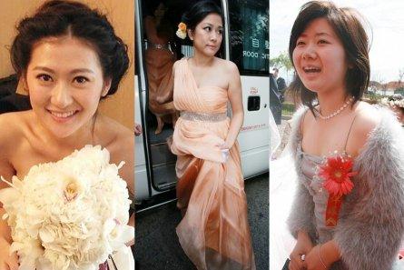 泰安伴娘事件闹出人间悲喜 盘点明星婚礼上的美丽伴娘 组图