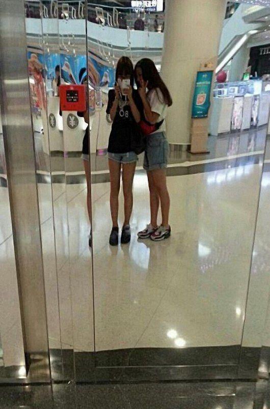 网络晒长腿大赛 萌妹子女汉子齐上阵【9】