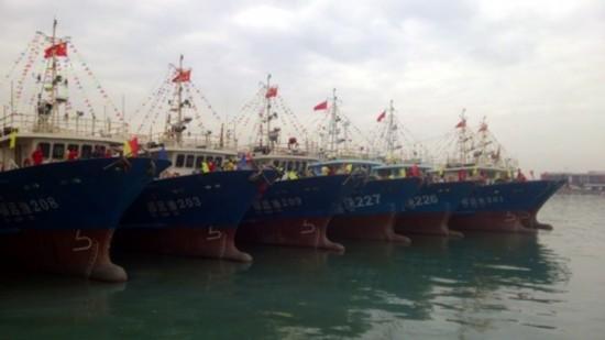 厦门市8艘远洋渔船首航