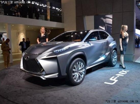 雷克萨斯将发布LF-NX Turbo版概念车