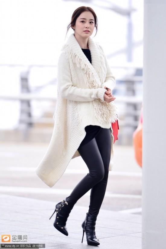 金泰熙现身大全显潮范韩国第一美女卡通萌态天然女生机场人物图片发型图片