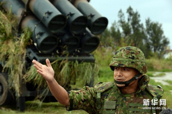 (XHDW)(3)日本进行地对舰导弹连队训练