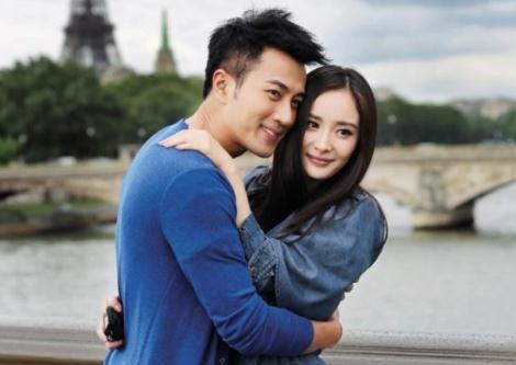 杨幂刘恺威结婚照图片
