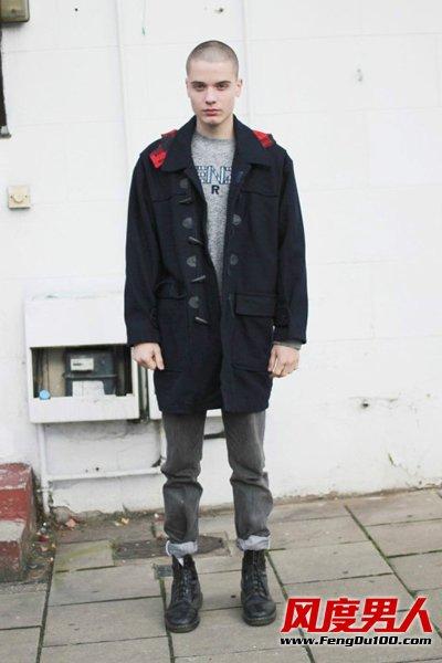 欧美潮男11月最新街拍搭配图片