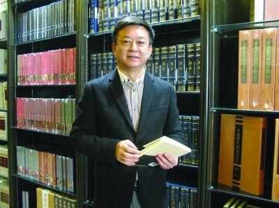 朱軍在南京鳳凰書城書吧。