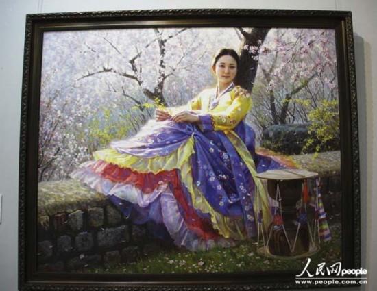 《朝鲜艺术家美术精品展》拉开亚洲艺术节序幕【3】图片