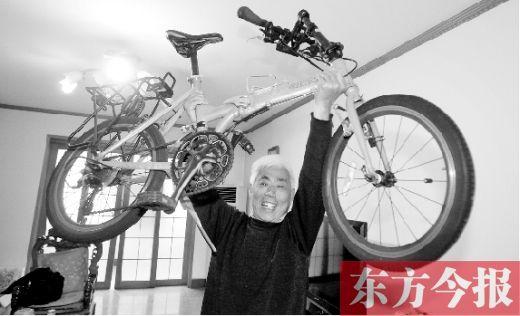 六旬老人骑单车逛欧洲12国