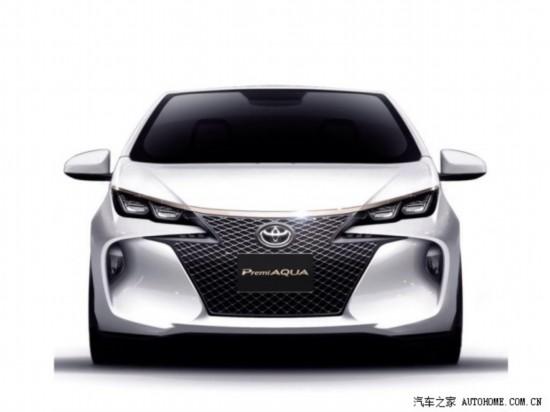 运动风 丰田Premi Aqua概念车即将发布