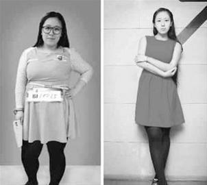 谢娜胖的照片_减肥前后对比励志图_减肥前后对比_减肥前后对比照片-生活资讯网