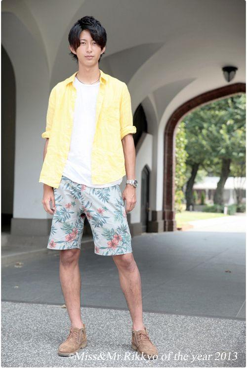 日本女性时尚杂志《CanCam》诞生首位男性专