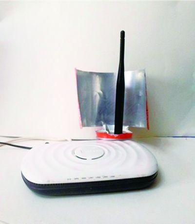 网曝易拉罐变身WiFi信号放大器图片