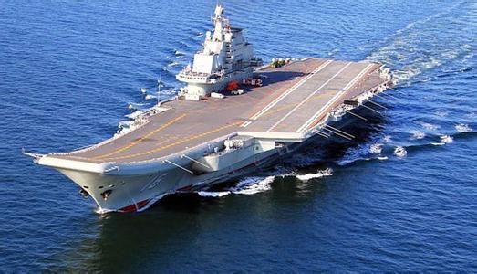 中国辽宁舰与2驱2护组成航母编队开赴南海训练