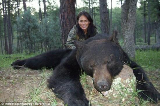 美女与野兽:美国女猎手自称动物保护主义者【2】