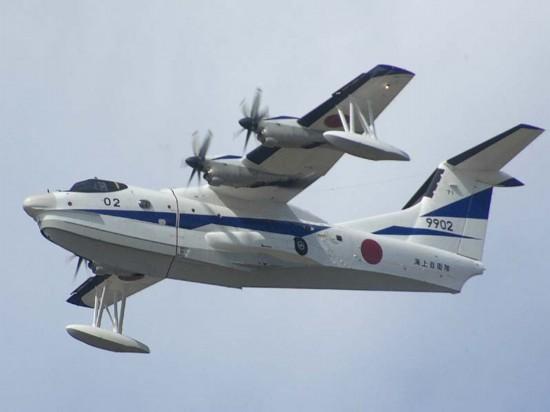 日本目前正围绕对印出口水上飞机同加拿大和俄罗斯