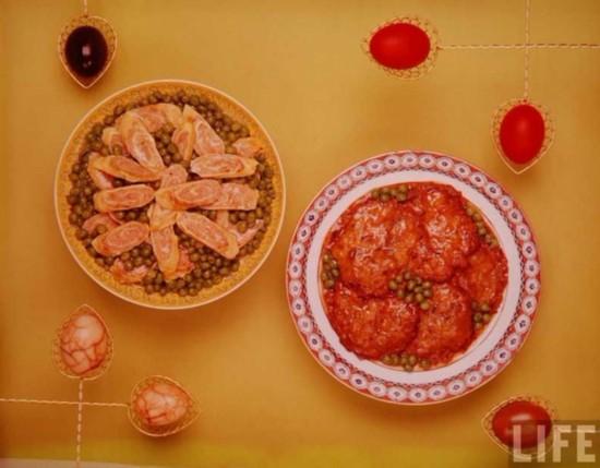 1967年版 舌尖上的中国 一组中华美食的照片
