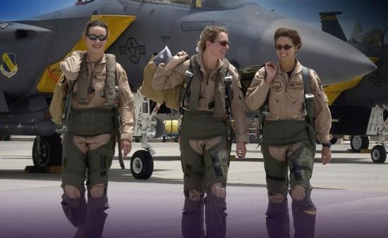 各国空军美女飞行员