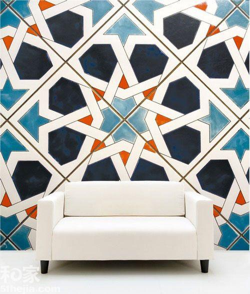 摩洛哥回忆录 花纹瓷砖演绎梦幻国度