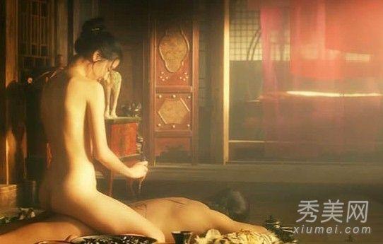 的电影《美人图》 戏内男女主角长达10分钟的床戏