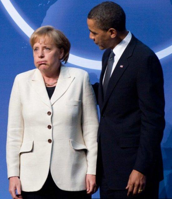 奥巴马与女首相玩自拍夫人黑脸 领导人囧事很