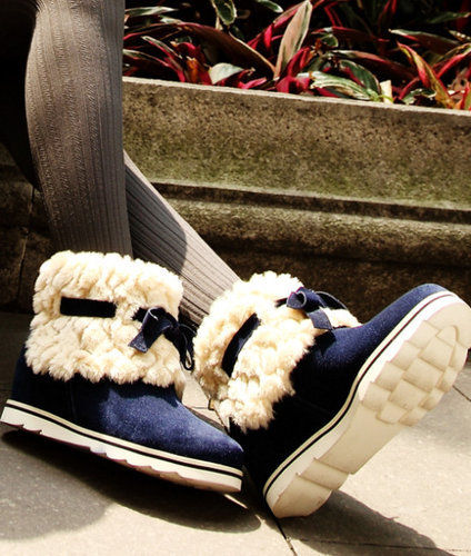大雪节气新一轮降温 15款保暖 可爱雪地靴