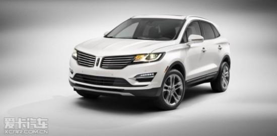 林肯MKC基于福特翼虎平台打造,新车采用了最新的家族式设计风格高清图片