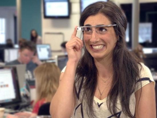 谷歌眼镜发布重大升级 增加眨眼拍照功能 高清图片