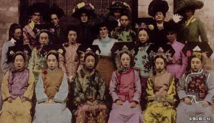 清朝皇族贵族女儿格格和公主