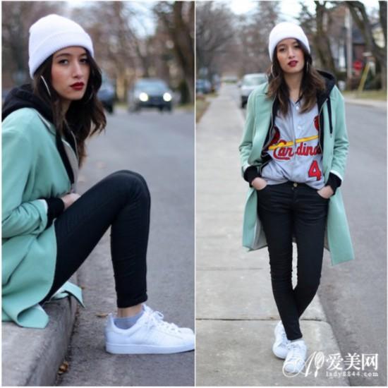 外套+紧身裤+帽子 完美显瘦从头开始【26】