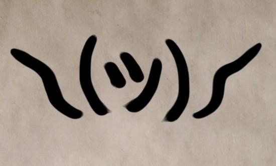 字母新用法:日本字符被制成各式网络表情图片
