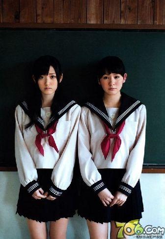 日本女生爱校服 盘点高中校园的制服美少女【23】